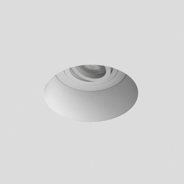 Встраиваемый светильник Astro Blanco 1253005 (7343), 1xGU10x50W, белый, под покраску, гипс, металл - миниатюра 2