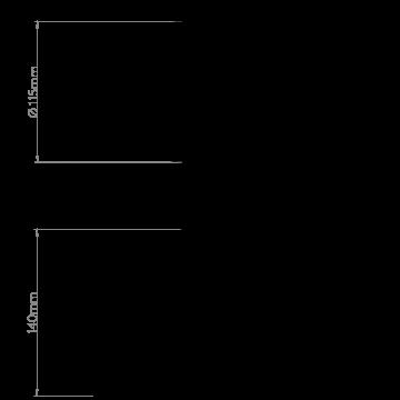 Схема с размерами Astro 1253005