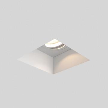 Встраиваемый светильник Astro Blanco 1253007 (7345), 1xGU10x50W, белый, под покраску, гипс, металл - миниатюра 2