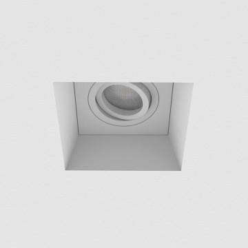Встраиваемый светильник Astro Blanco 1253007 (7345), 1xGU10x50W, белый, под покраску, гипс, металл - миниатюра 3