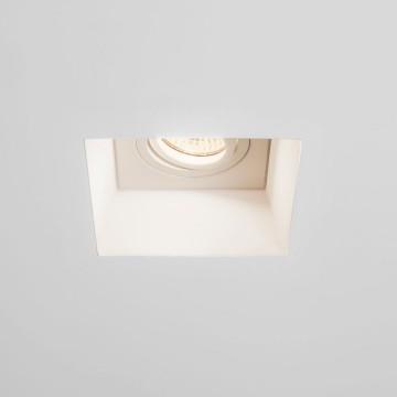 Встраиваемый светильник Astro Blanco 1253007 (7345), 1xGU10x50W, белый, под покраску, гипс, металл - миниатюра 5