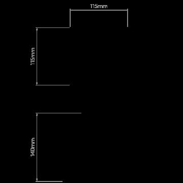 Схема с размерами Astro 1253007
