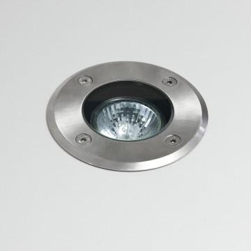 Встраиваемый в уличное покрытие светильник Astro Gramos 1312001 (7131), IP65, 1xGU10x6W, сталь, металл, стекло