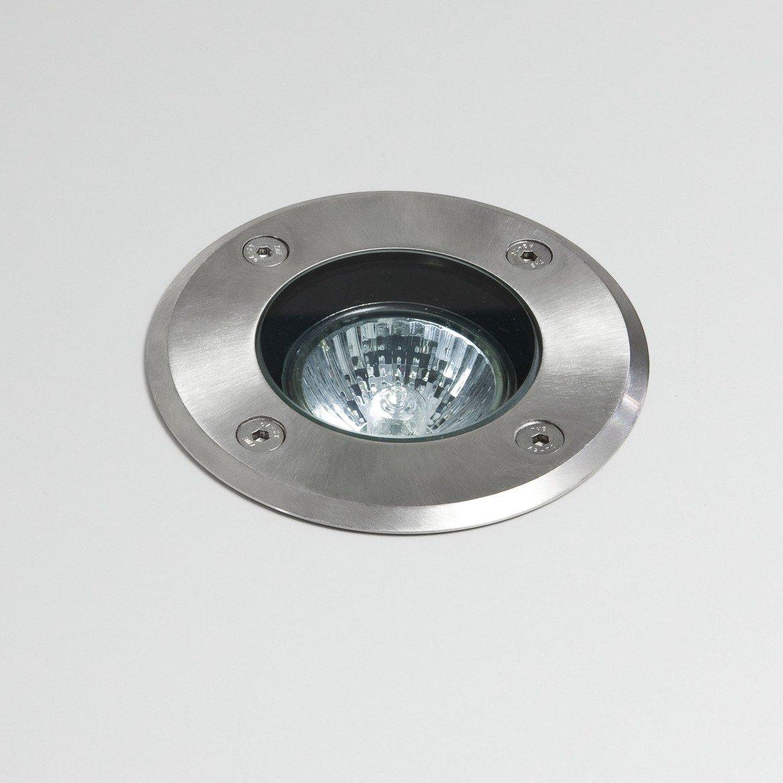 Встраиваемый в уличное покрытие светильник Astro Gramos 1312001 (7131), IP65, 1xGU10x6W, прозрачный, сталь, металл, стекло - фото 1