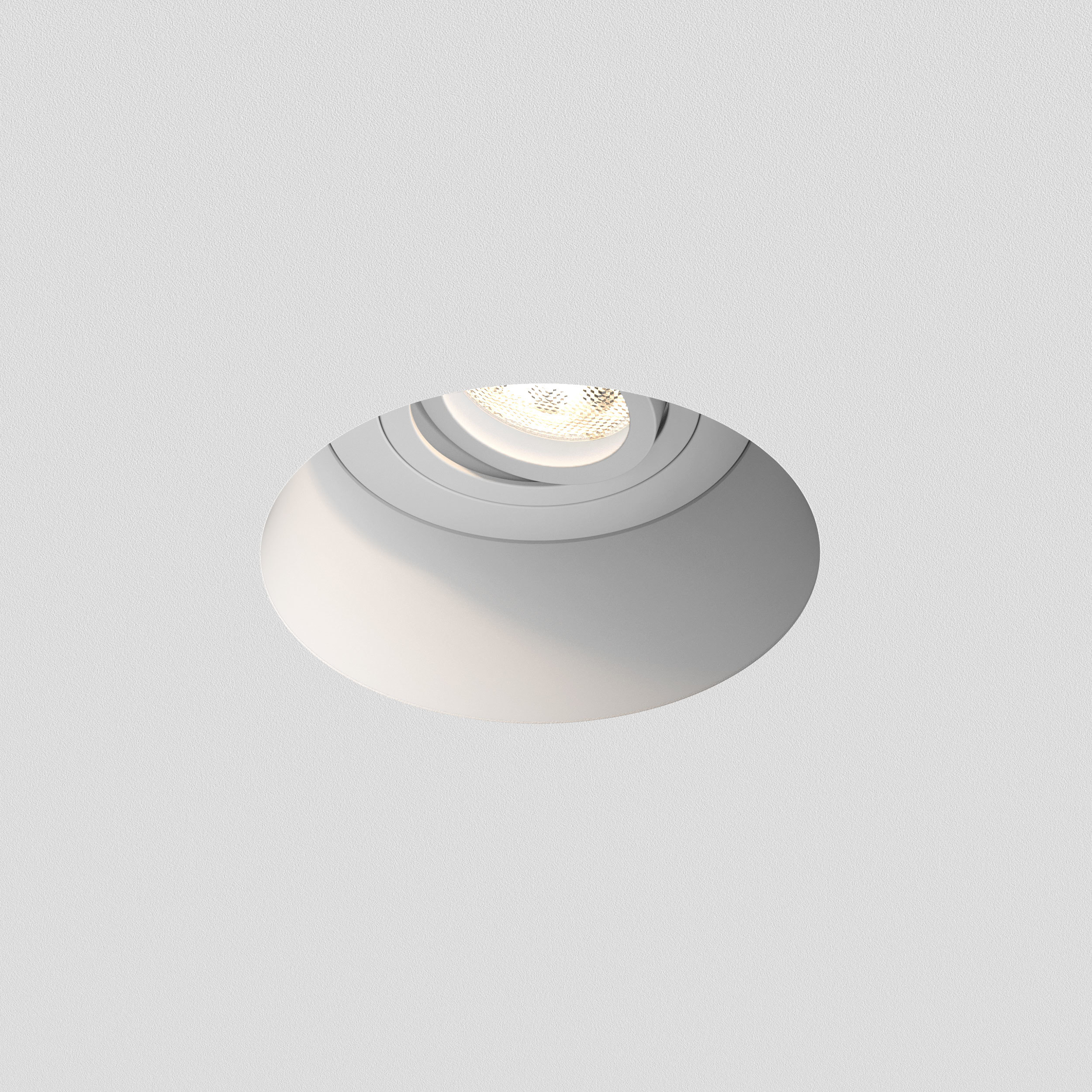 Встраиваемый светильник Astro Blanco 1253005 (7343), 1xGU10x50W, белый, под покраску, гипс, металл - фото 3