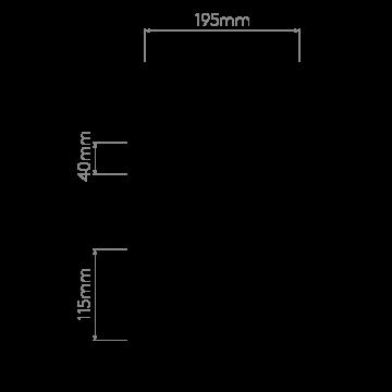 Схема с размерами Astro 1253006