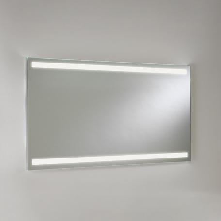 Зеркало со светодиодной подсветкой Astro Avlon 1359001 (7409), IP44, LED 19,2W 3000K CRI80, зеркальный, металл - миниатюра 1