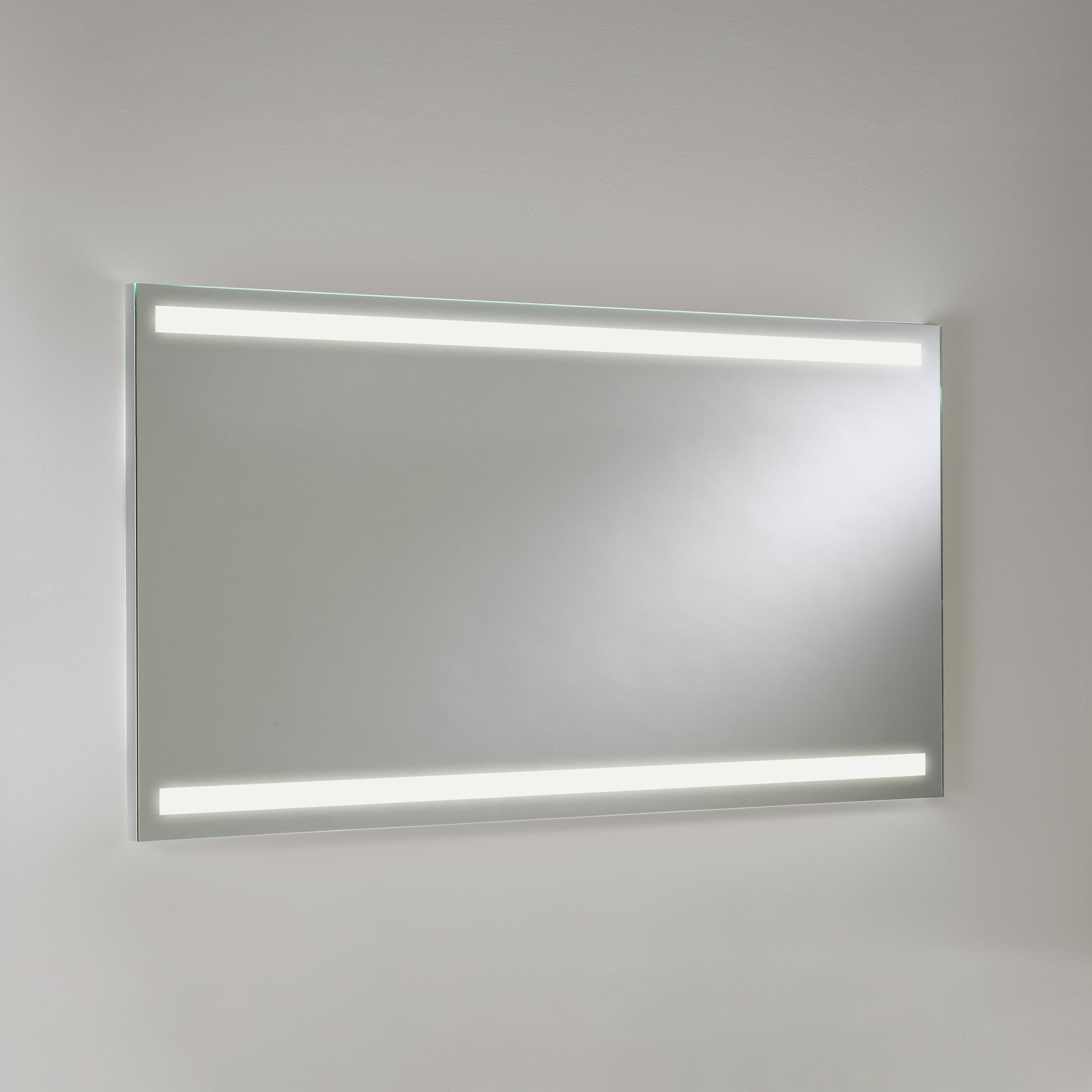 Зеркало со светодиодной подсветкой Astro Avlon 1359001 (7409), IP44, LED 19,2W 3000K CRI80, зеркальный, металл - фото 1