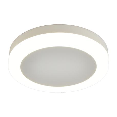 Светодиодный светильник Omnilux Valles OML-102109-06, LED 6W 4000K 162lm, белый, металл с пластиком