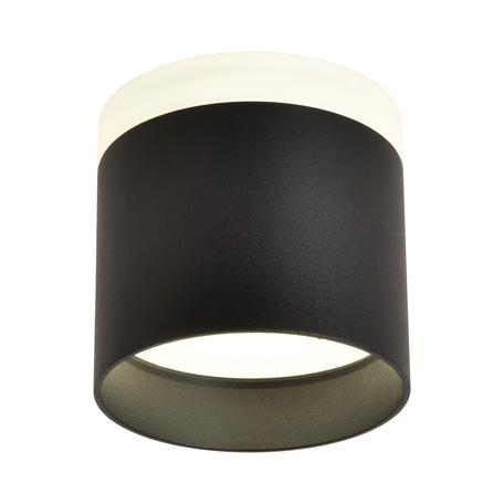 Светодиодный светильник Omnilux Tures OML-102319-16, LED 16W 4000K 840lm, черный с белым, металл с пластиком