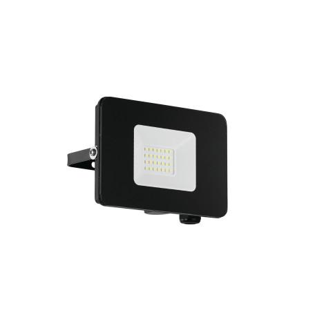 Светодиодный прожектор Eglo Faedo 3 97456, IP65, LED 20W 5000K 1800lm, черный, металл, металл со стеклом, стекло