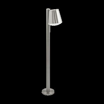 Садово-парковый светильник с пультом ДУ Eglo Caldiero-C 97485, IP44, 1xE27x9W, сталь, металл, пластик