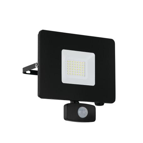 Светодиодный прожектор Eglo Faedo 3 97462, IP44, LED 30W 5000K 2750lm, черный, металл, металл со стеклом, стекло