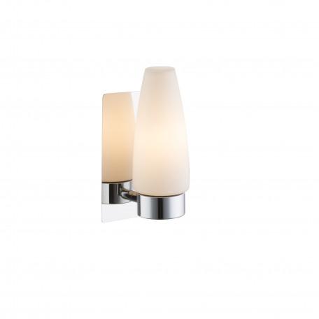 Настенный светильник Globo Piton 78160, IP44, 1xE14x25W, металл, стекло