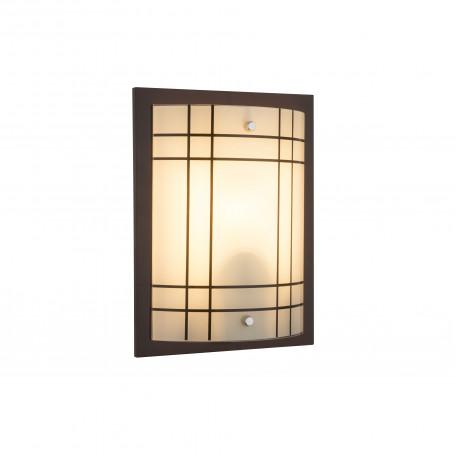 Потолочный светильник Globo Kadavu 48089W, 1xE27x60W, дерево, стекло