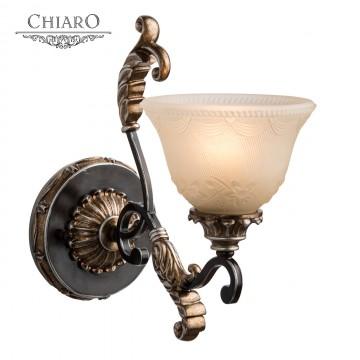Бра Chiaro 254028001 Версаче, состаренная бронза, матовый белый