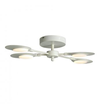 Потолочная светодиодная люстра ST Luce Farfalo SL824.502.04, LED 26W 4000K, белый, металл, металл с пластиком