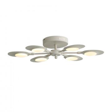 Потолочная светодиодная люстра ST Luce Farfalo SL824.502.06, LED 39W, 4000K (дневной), белый, металл, пластик