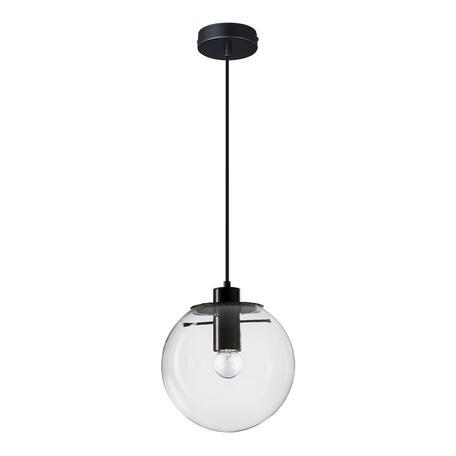 Подвесной светильник Loft It Selene 2031-C, 1xE27x60W, черный, прозрачный, металл, стекло