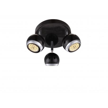 Потолочная люстра с регулировкой направления света Globo Oman 57884-3, 3xGU10x3W, металл