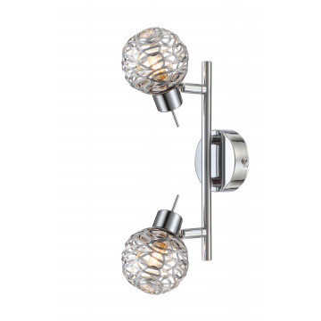 Потолочный светильник с регулировкой направления света Globo Bolt 56625-2, 2xG9x33W, металл