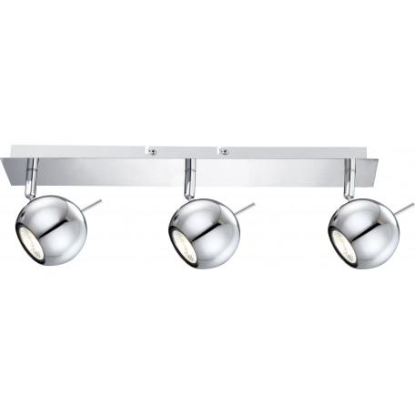 Потолочный светильник с регулировкой направления света Globo Oberon 57881-3L, 3xGU10x3W, металл