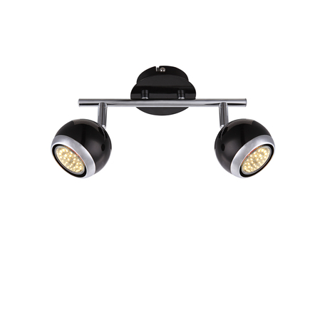Потолочный светильник с регулировкой направления света Globo Oman 57884-2O, 2xGU10x50W, металл