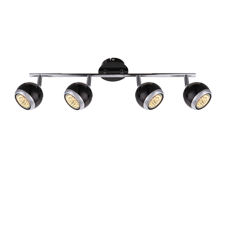 Потолочный светильник с регулировкой направления света Globo Oman 57884-4O, 4xGU10x50W, металл
