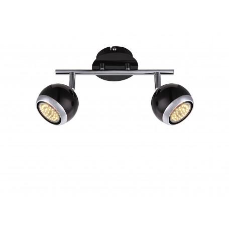 Потолочный светильник с регулировкой направления света Globo Oman 57884-2, 2xGU10x3W, металл