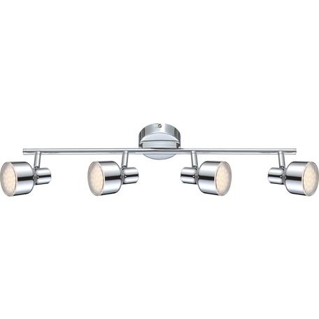 Потолочный светодиодный светильник с регулировкой направления света Globo Rois 56213-4, LED 16W 3000K, металл