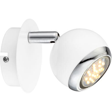 Настенный светильник с регулировкой направления света Globo Oman 57882-1, 1xGU10x3W, металл