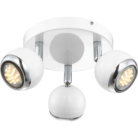 Потолочная люстра с регулировкой направления света Globo Oman 57882-3, 3xGU10x2,5W, металл