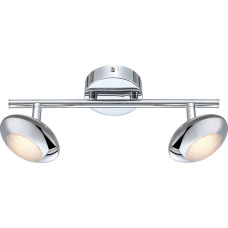 Потолочный светодиодный светильник с регулировкой направления света Globo Gilles 56217-2, LED 10W 3000K, металл, металл с пластиком