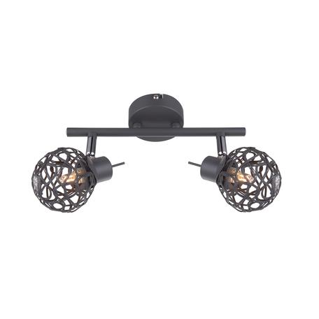 Потолочный светильник с регулировкой направления света Globo Mosa 56628-2, 2xG9x33W, металл