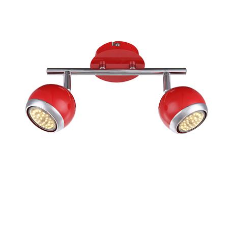 Потолочный светильник с регулировкой направления света Globo Oman 57885-2O, 2xGU10x50W, металл