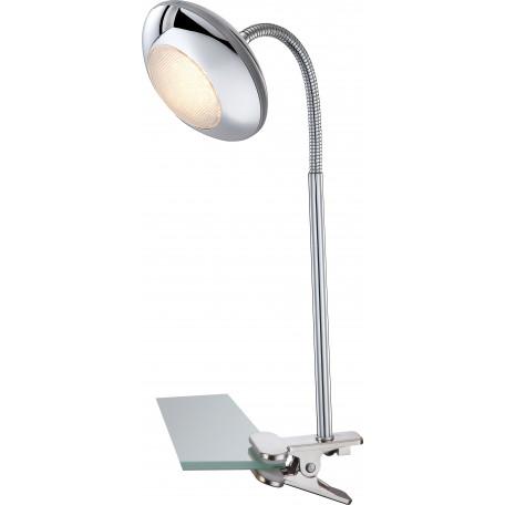 Светодиодный светильник на прищепке Globo Gilles 56217-1K, LED 5W 3000K, металл, пластик