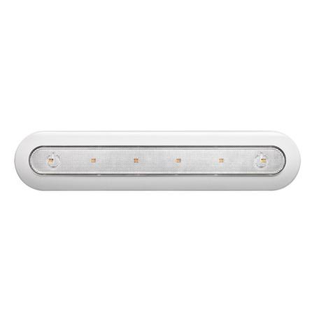 Мебельный светодиодный светильник Novotech Madera 357442, LED 1,25W 4000K 80lm, белый, пластик
