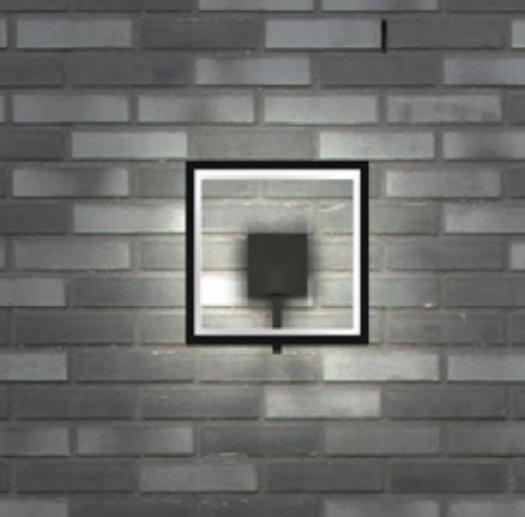 Настенный светодиодный светильник Novotech Street Roca 357445, IP65, LED 10W 3000K 600lm, темно-серый, металл, пластик - фото 1