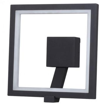 Настенный светодиодный светильник Novotech Street Roca 357445, IP65, LED 10W 3000K 600lm, темно-серый, металл, пластик - миниатюра 2
