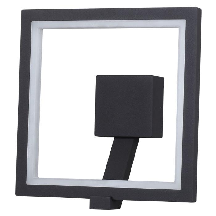Настенный светодиодный светильник Novotech Street Roca 357445, IP65, LED 10W 3000K 600lm, темно-серый, металл, пластик - фото 2