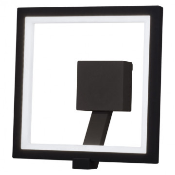Настенный светодиодный светильник Novotech Street Roca 357445, IP65, LED 10W 3000K 600lm, темно-серый, металл, пластик - миниатюра 3