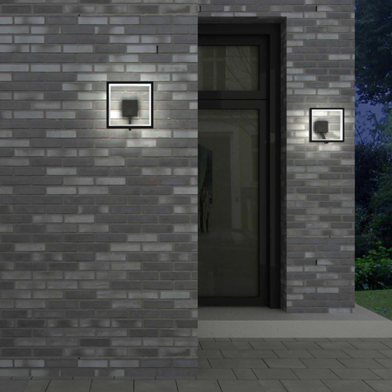 Настенный светодиодный светильник Novotech Street Roca 357445, IP65, LED 10W 3000K 600lm, темно-серый, металл, пластик - фото 4
