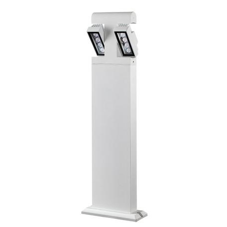 Садово-парковый светодиодный светильник Novotech Kaimas 357430, IP54, LED 8W, 3000K (теплый), белый, черно-белый, металл, металл со стеклом/пластиком, стекло - миниатюра 1