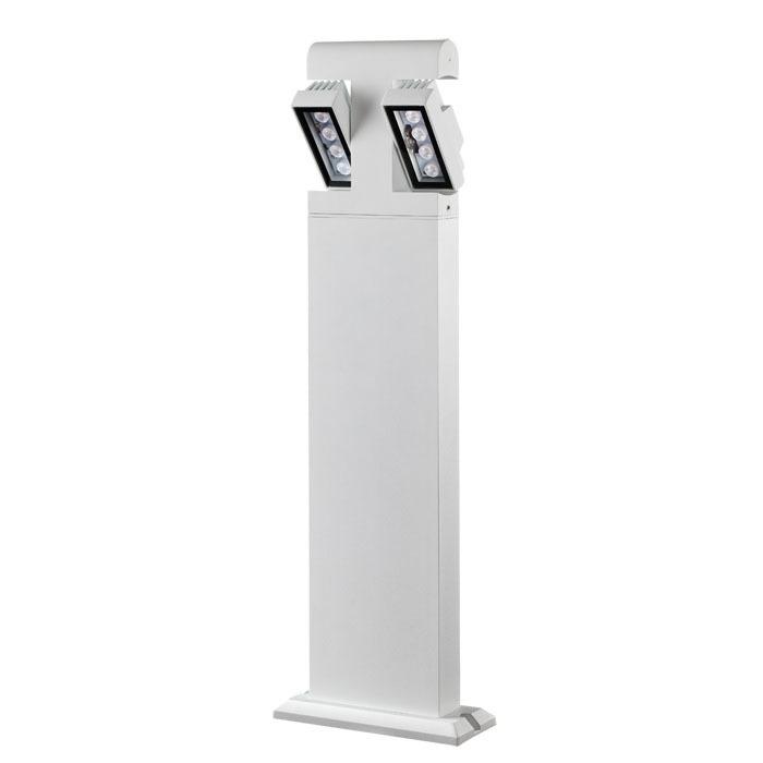 Садово-парковый светодиодный светильник Novotech Kaimas 357430, IP54, LED 8W, 3000K (теплый), белый, черно-белый, металл, металл со стеклом/пластиком, стекло - фото 1
