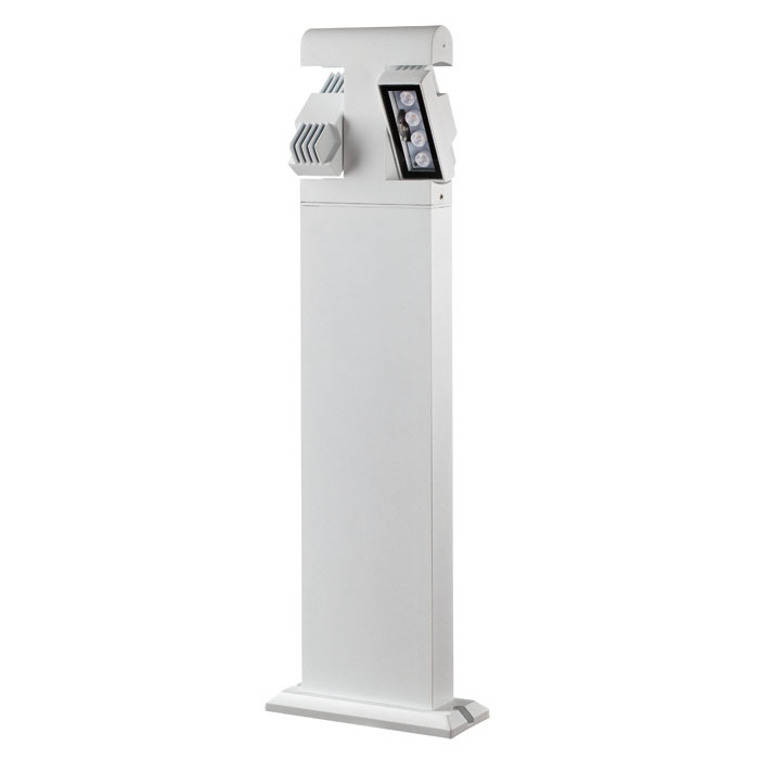 Садово-парковый светодиодный светильник Novotech Kaimas 357430, IP54, LED 8W, 3000K (теплый), белый, черно-белый, металл, металл со стеклом/пластиком, стекло - фото 2