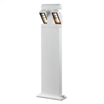 Садово-парковый светодиодный светильник Novotech Kaimas 357430, IP54, LED 8W, 3000K (теплый), белый, черно-белый, металл, металл со стеклом/пластиком, стекло - миниатюра 3