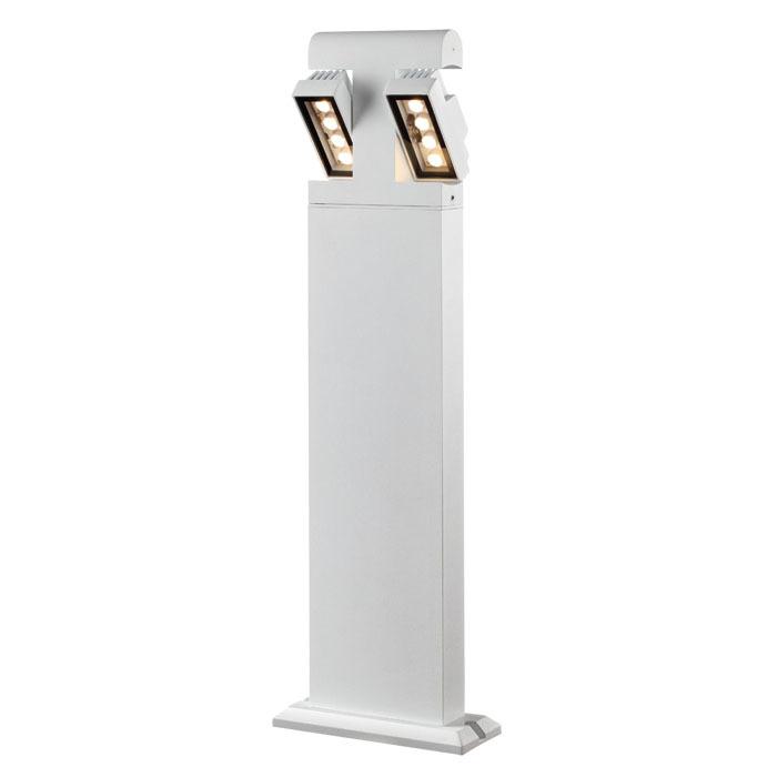 Садово-парковый светодиодный светильник Novotech Kaimas 357430, IP54, LED 8W, 3000K (теплый), белый, черно-белый, металл, металл со стеклом/пластиком, стекло - фото 3