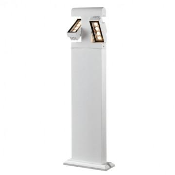Садово-парковый светодиодный светильник Novotech Kaimas 357430, IP54, LED 8W, 3000K (теплый), белый, черно-белый, металл, металл со стеклом/пластиком, стекло - миниатюра 4