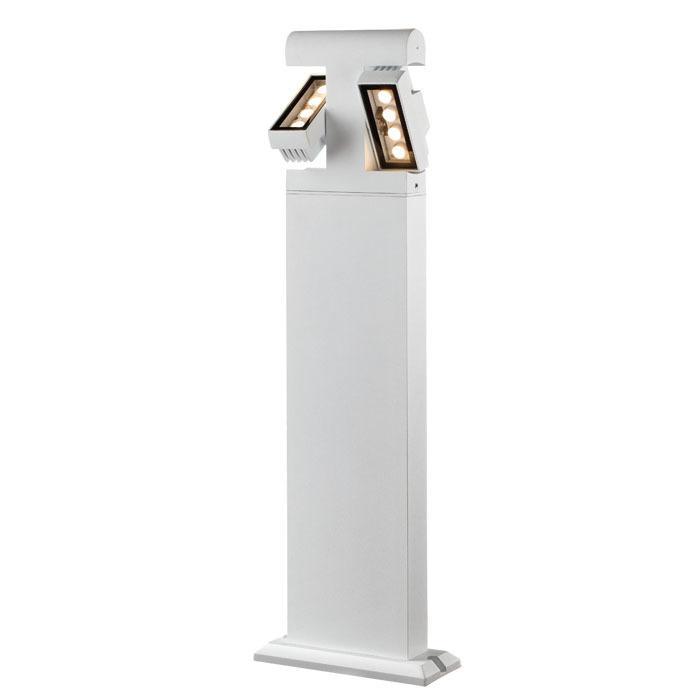 Садово-парковый светодиодный светильник Novotech Kaimas 357430, IP54, LED 8W, 3000K (теплый), белый, черно-белый, металл, металл со стеклом/пластиком, стекло - фото 4