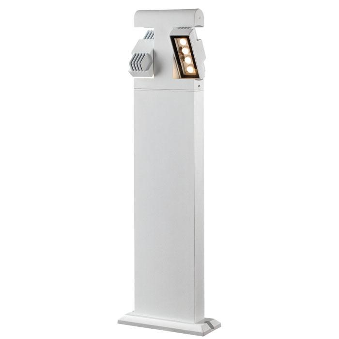 Садово-парковый светодиодный светильник Novotech Kaimas 357430, IP54, LED 8W, 3000K (теплый), белый, черно-белый, металл, металл со стеклом/пластиком, стекло - фото 5